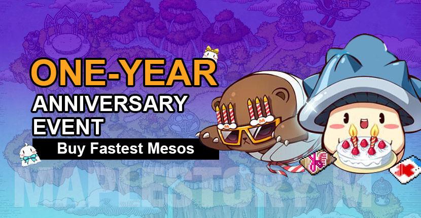 ONE-YEAR ANNIVERSARY EVENT