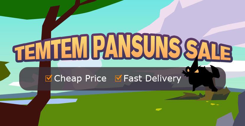 TEMTEM PANSUNS SALE