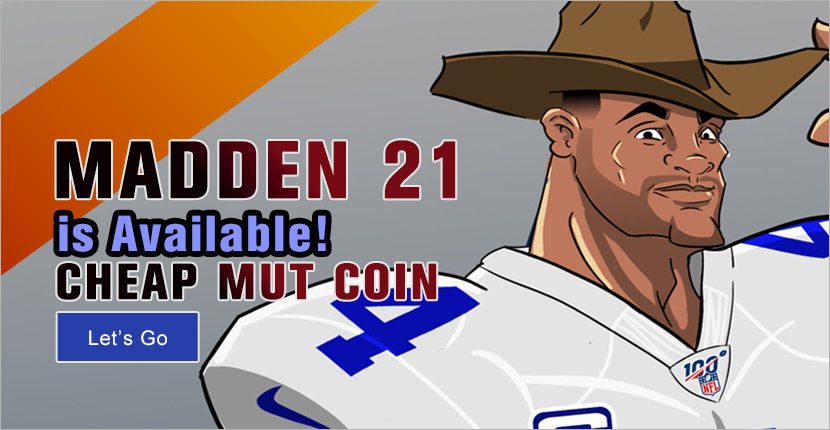 Madden 21 is Available! Cheap mut coin